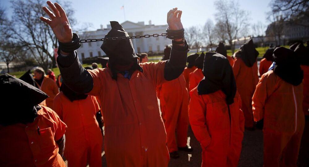 Guantanamo protestosu