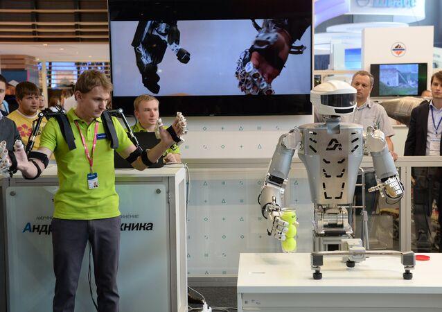 Rusya'da geliştirilen avatar robot