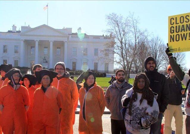 Guantanamo'nun 14'üncü yıldönümü protesto edildi