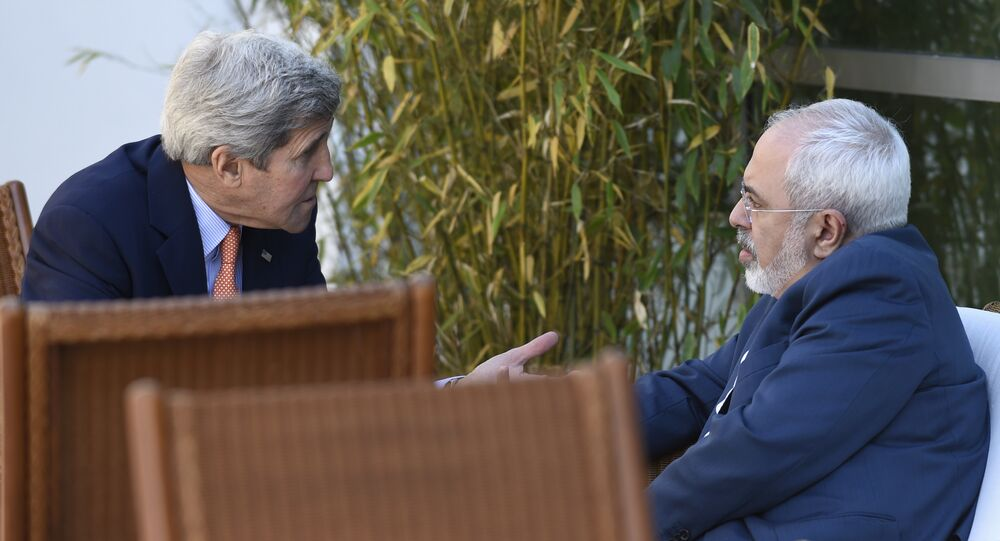ABD Dışişleri Bakanı John Kerry - İran Dışişleri Bakanı Cevad Zarif