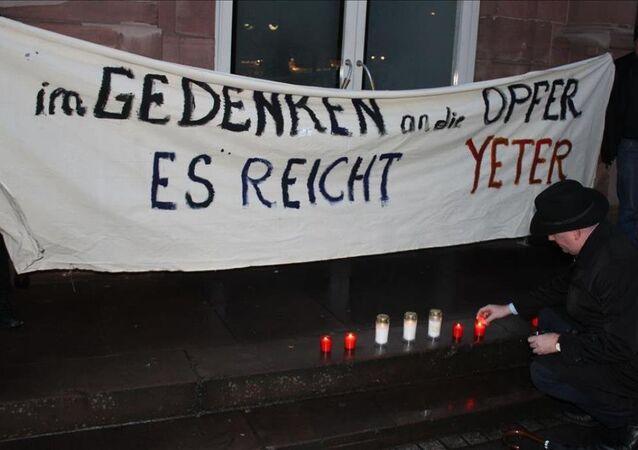 Sultanahmet saldırısı Frankfurt'ta protesto edildi