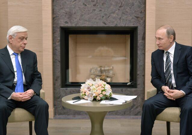 Vladimir Putin - Prokopis Pavlopoulos