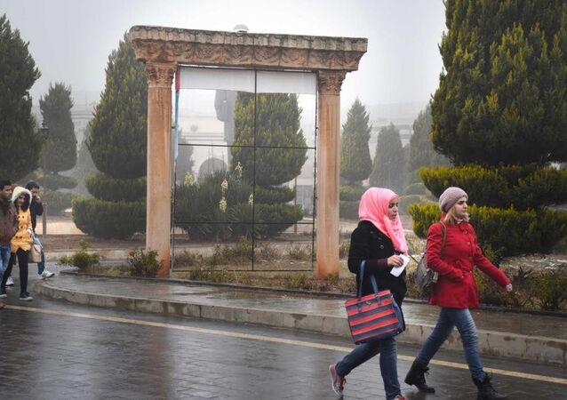 Suriye'de Humus Baas Üniversitesi
