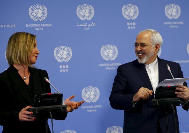 İran Dışişleri Bakanı Zarif, AB Dış İlişkiler Yüksek Komiseri Mogherini