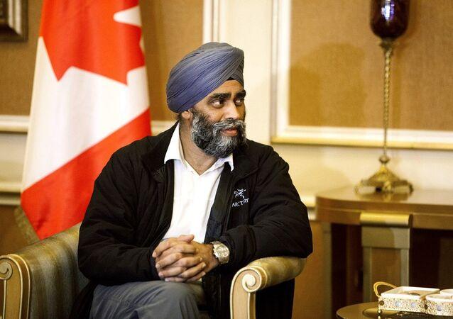 Kanada Savunma Bakanı Harjit Sajjan