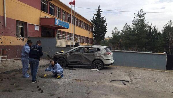 Kilis'te okula havan topu düştü - Sputnik Türkiye