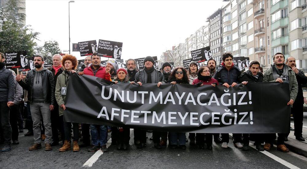 Hrant Dink öldürülüşünün  9. yılında anıldı