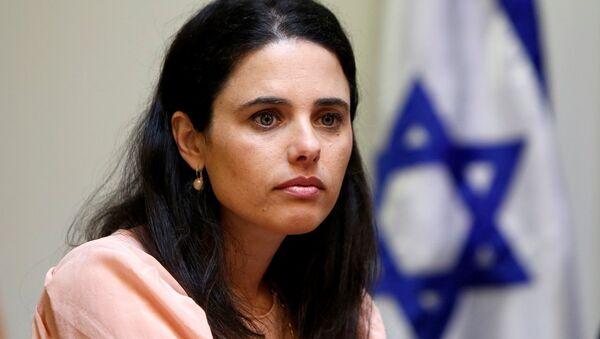 İsrail Adalet Bakanı Ayelet Şaked - Sputnik Türkiye