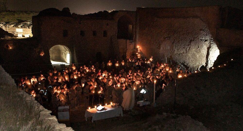 Irak'taki 1400 yıllık Dair Mar Elia