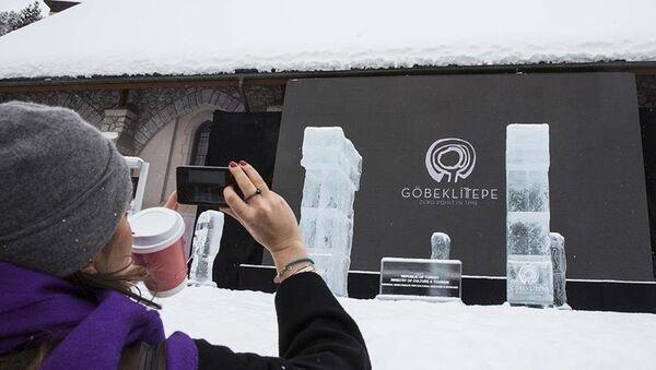Göbeklitepe, Davos'ta görücüye çıkıyor - Sputnik Türkiye
