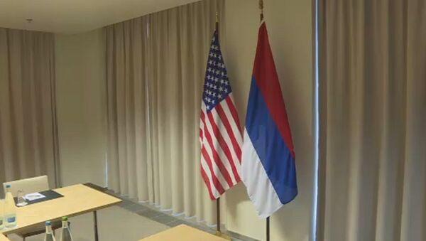 ABD bayrağı- Rusya bayrağı - Sputnik Türkiye