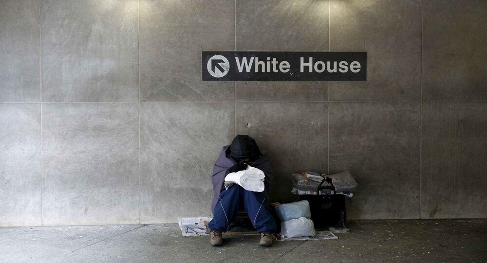 ABD evsiz / Beyaz Saray