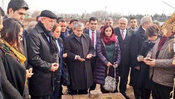 CHP heyeti Diyarbakır'da - Sputnik Türkiye