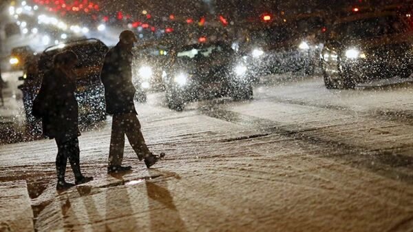 ABD kar fırtınası - Sputnik Türkiye