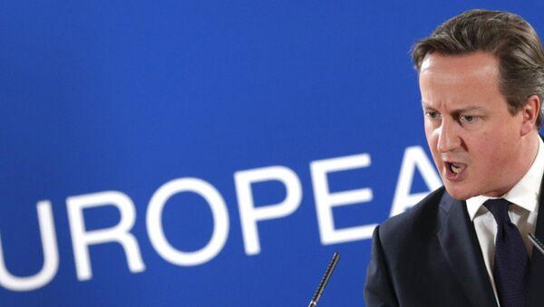 British PM David Cameron - Sputnik Türkiye