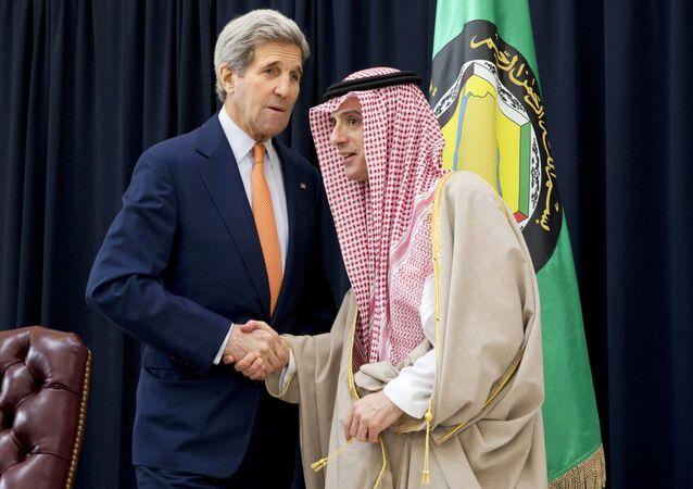 ABD Dışişleri Bakanı John Kerry ve Suudi Arabistan Dışişleri Bakanı Adil el Cubeyr