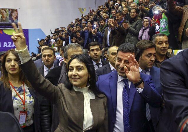 HDP 2. Olağan Genel Kurulu / Figen Yüksekdağ-Selahattin Demirtaş