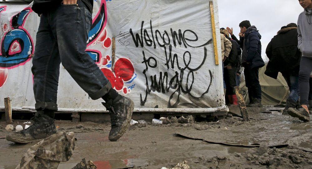 Fransa - İngiltere/ Calais yakınlarında Dunkirk sığınmacı kampları