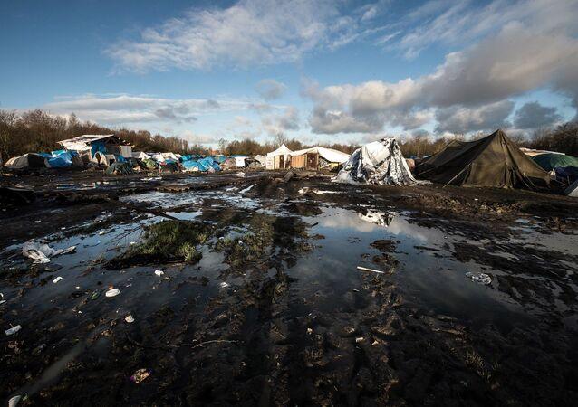 Dunkirk sığınmacı kampı - Calais