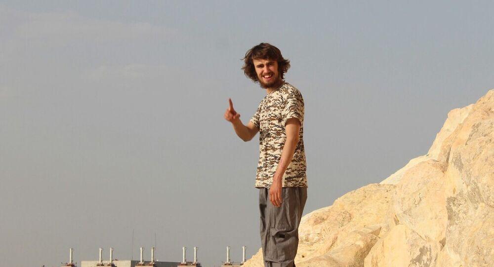 'Cihatçı John'un IŞİD'e katılan ilk 'beyaz' İngiliz erkek olduğu iddia edildi.