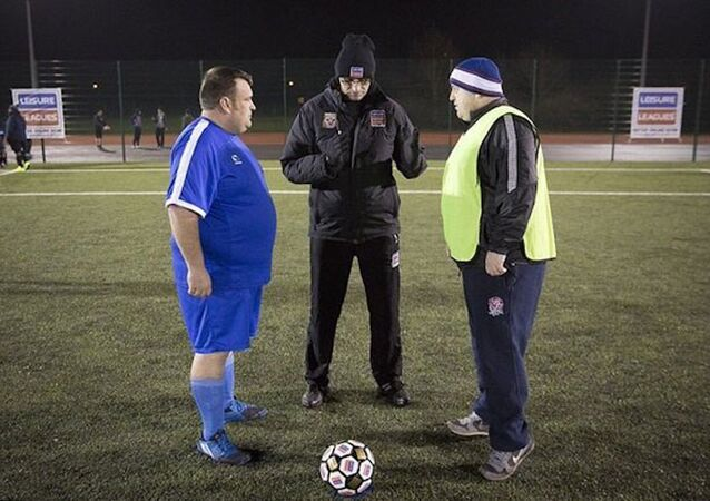 İngiltere'de obezler için futbol ligi