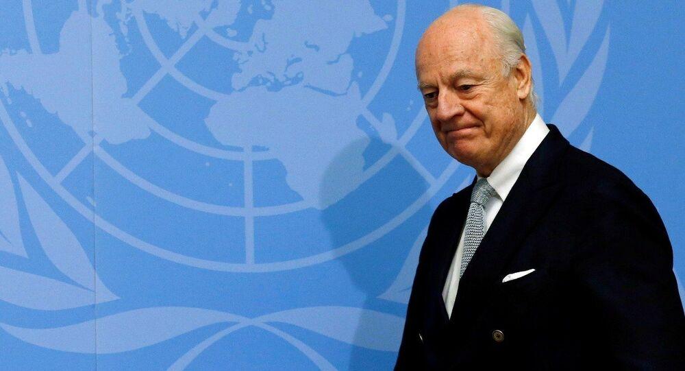 Birleşmiş Milletler'in Suriye Özel Temsilcisi Staffan De Mistura