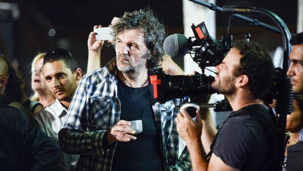 Emir Kusturica, 9. Küstendorf Film ve Müzik Festivali'nde. - Sputnik Türkiye