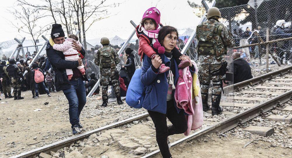 Yunanistan sınırındaki sığınmacılar