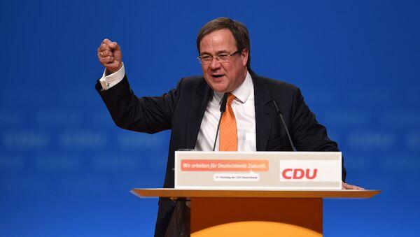 Almanya Hristiyan Demokrat Parti (CDU) Genel Başkan Yardımcısı Armin Laschet - Sputnik Türkiye
