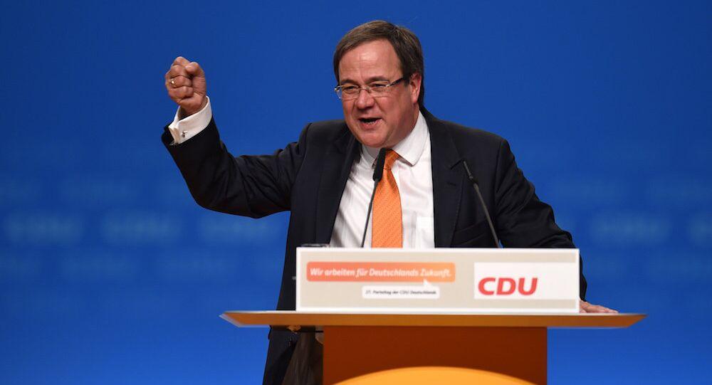 Almanya Hristiyan Demokrat Parti (CDU) Genel Başkan Yardımcısı Armin Laschet