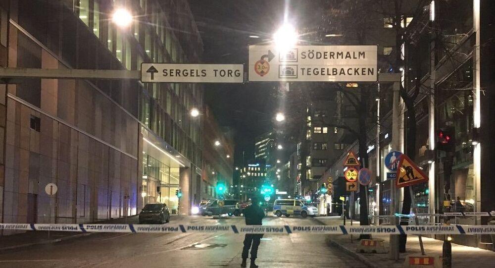 Stockholm'ün merkezinde patlama