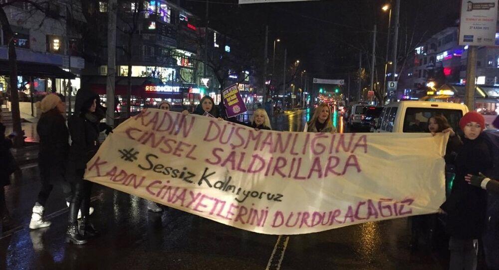 Bağdat Caddesi tecavüz protesto