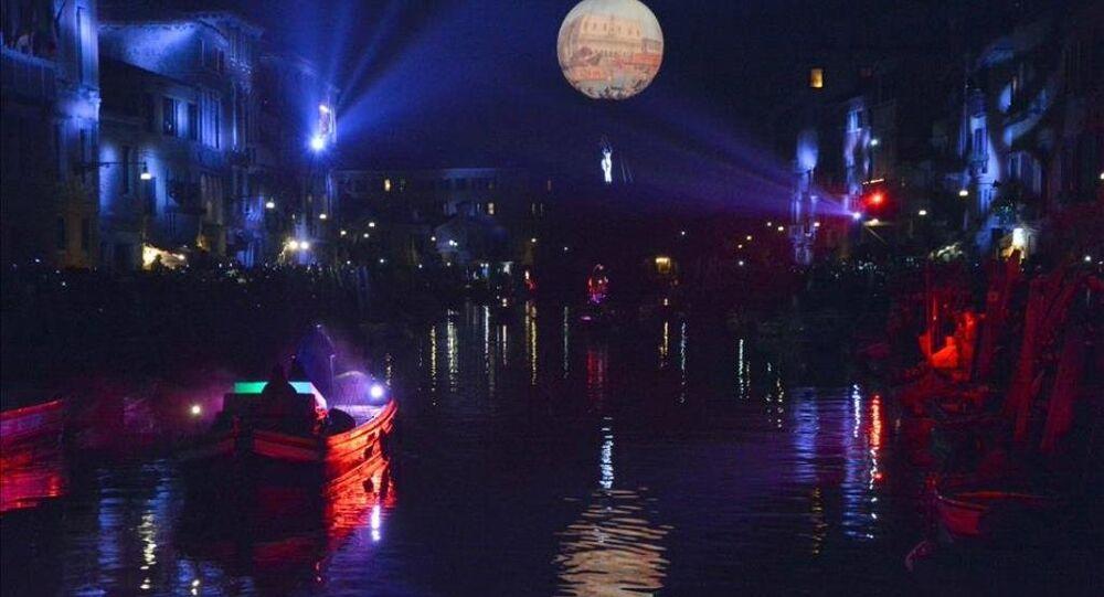 Venedik'te 'karnaval' zamanı