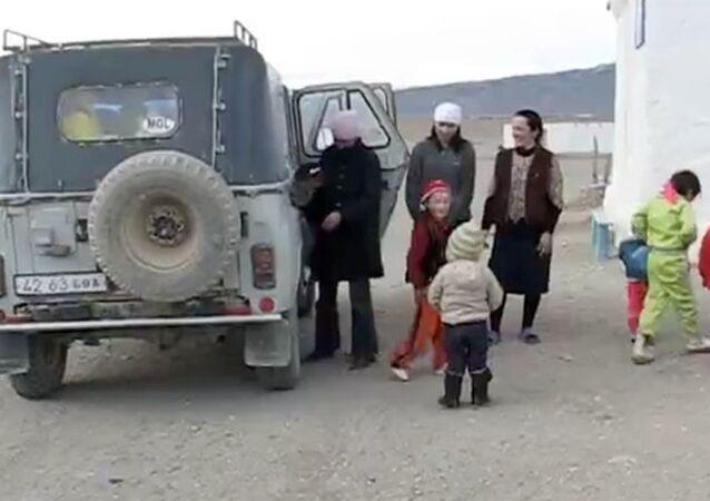 UAZ arazi aracı