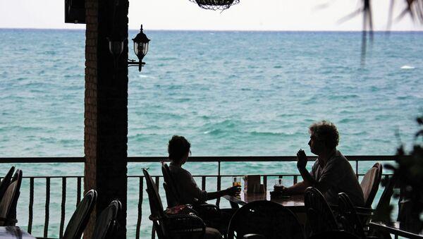 Side, Turkey. A street cafe - Sputnik Türkiye