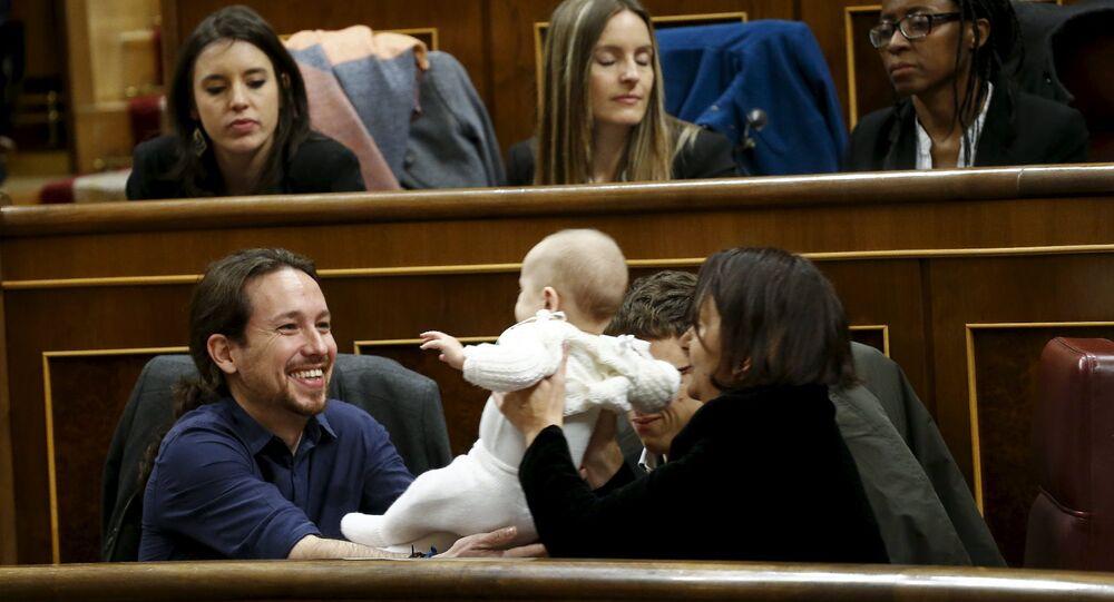 Podemos lideri Pablo Iglesias