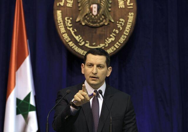 Suriye'nin eski Dışişleri Bakanlığı sözcüsü Cihad Makdissi