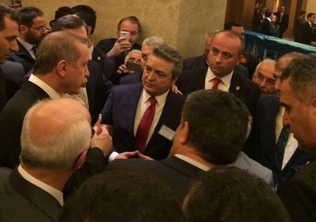 Hakkari'nin taşınmaması için Cumhurbaşkanı ile görüştüler.