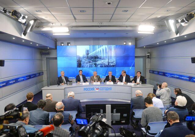 Suriyeli muhalif liderler, Rusya'nın başkenti Moskova'da basın toplantısı düzenledi