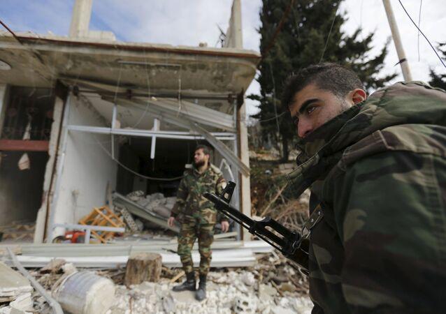 Suriye ordusu Rabia kentini ele geçirdi