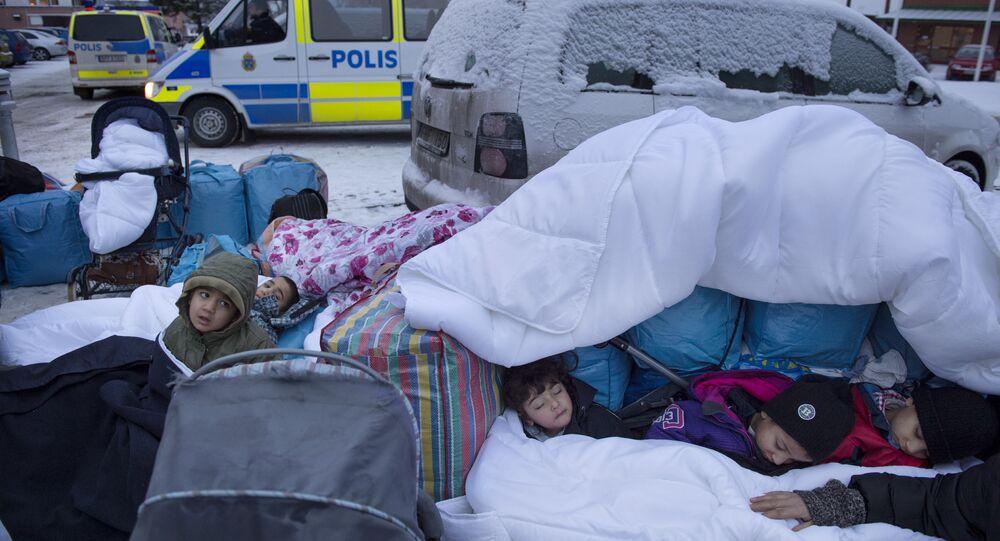 İsveç sığınmacı