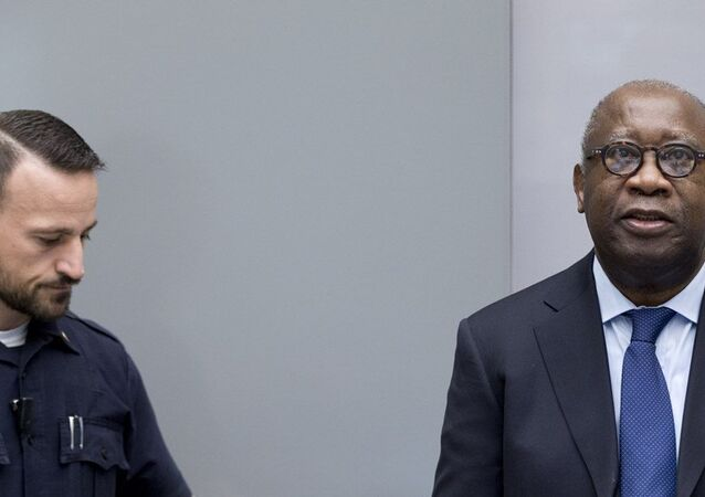 Fildişi Sahili'nin eski Devlet Başkanı Laurent Gbagbo