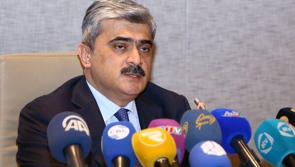 Azerbaycan Maliye Bakanı Samir Şerifov - Sputnik Türkiye