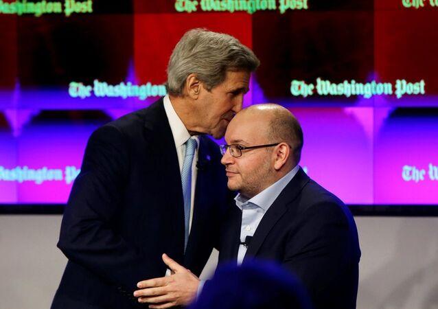ABD Dışişleri Bakanı John Kerry- Washington Post muhabiri Jason Rezaian