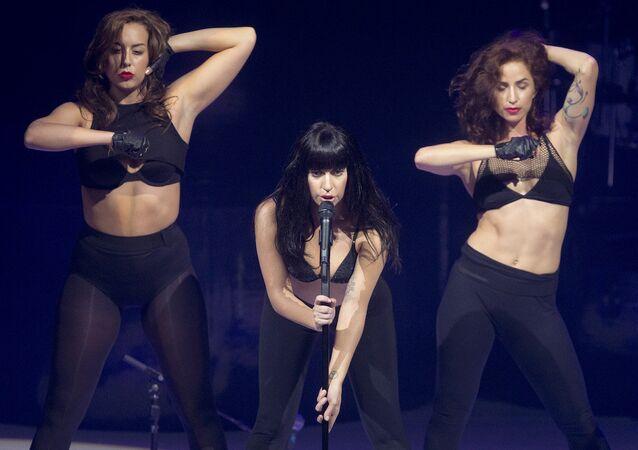 Lady Gaga konseri