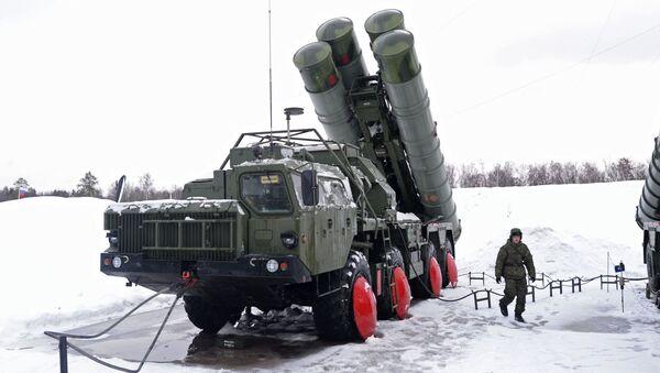 Moskova bölgesindeki S-400 taburu - Sputnik Türkiye