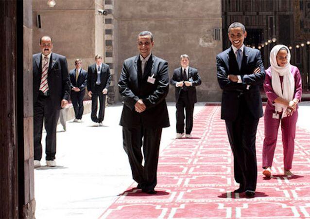 ABD Başkanı Obama, İstanbul'a geldiğinde Sultanahmet Camisi'ni ziyaret etmişti.