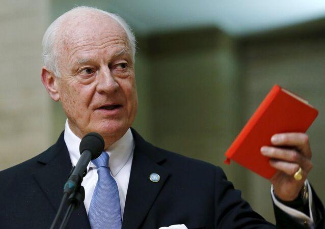 BM'nin Suriye Özel Temsilcisi Staffan De Mistura