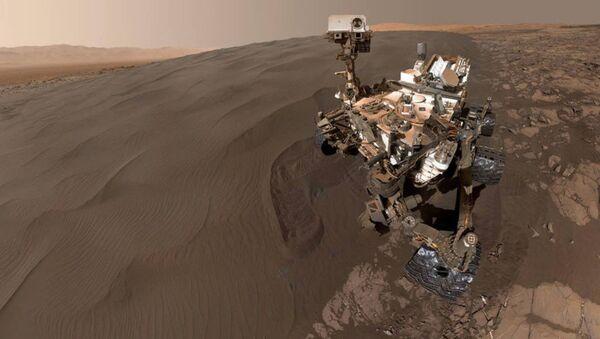 Curiosity'den Mars 'selfie'si - Sputnik Türkiye