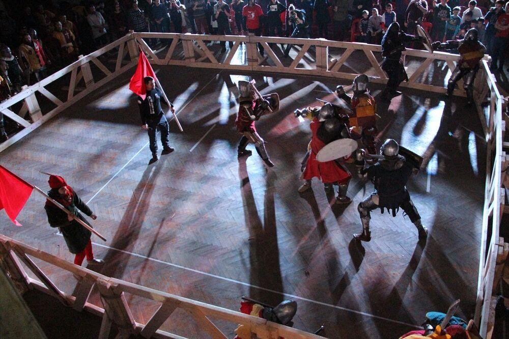 'Şövalyeler' Tataristan'da yarıştı
